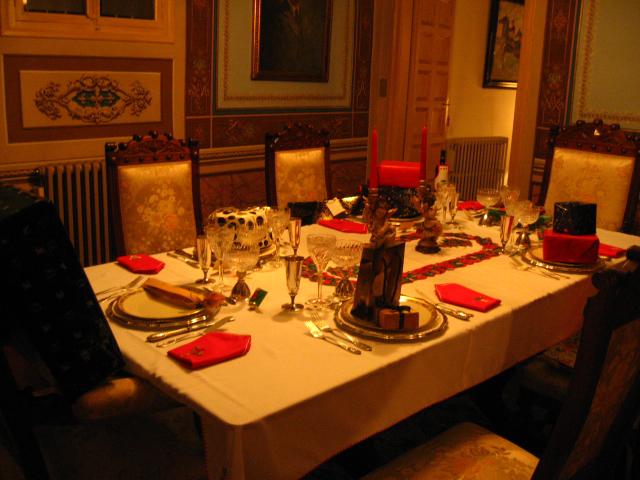 Los genes presiden la mesa de Navidad